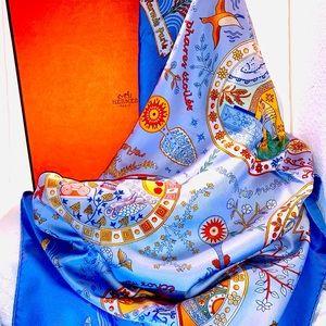 ❤️SALE❤️ Hermès Silk Scarf